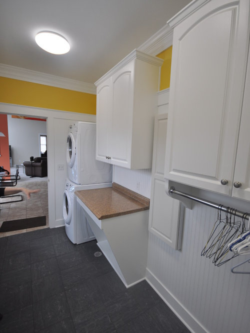 Traditional Galley Laundry Room Design Ideas Remodels