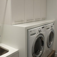 Modern Laundry Room by Partners 4, Design