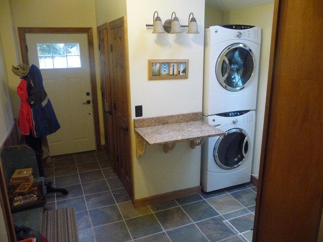 Traditional Laundry Room by Harbor Stone Construction Company, LLC