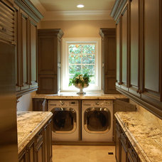 Traditional Laundry Room by Rose Hall Kitchen Galleria