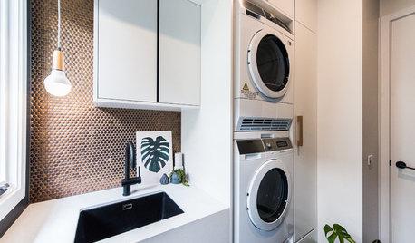 12 detaljer som får dig att vilja vara länge i tvättstugan