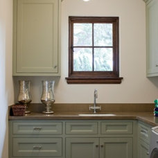 Traditional Laundry Room by Abbott Moon