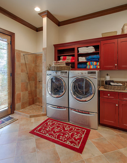 Traditional Laundry Room by Advance Cabinetry MI