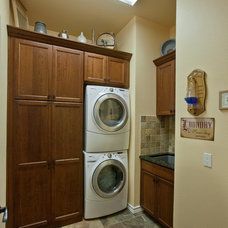 Laundry Room by Curb Appeal Renovations