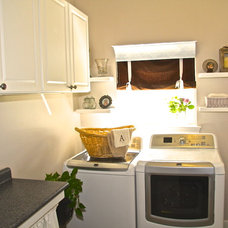 Traditional Laundry Room by All 4 Show, LLC
