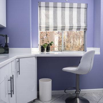 Laundry room and Art studio