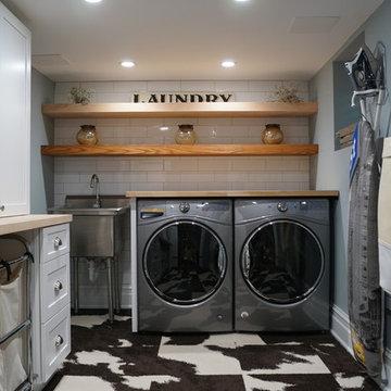 Laundry Room & Bath