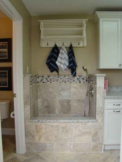 Traditional Laundry Room by Kane Interior Design