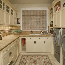 Traditional Laundry Room by Provanti Designs, Inc