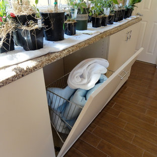 Inspiration for a timeless laundry room remodel in New York