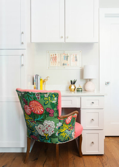 Transitional Laundry Room by Andria Fromm Interiors