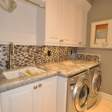 Traditional Laundry Room by Artesia Kitchen & Bath