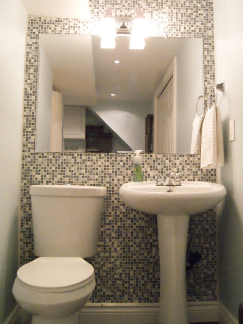 small half bath photos - Half Bathroom Design Ideas