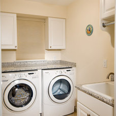 Traditional Laundry Room by Benson Homes LLC