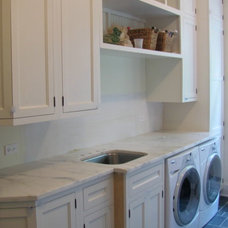 Traditional Laundry Room by Birom Cabinetry LLC