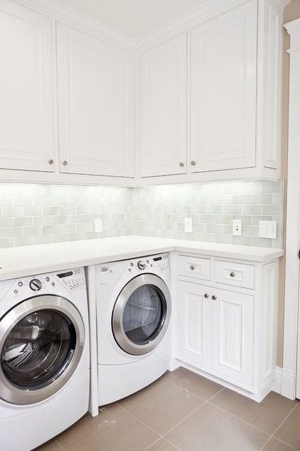 Traditional Laundry Room by Cabochon Surfaces & Fixtures