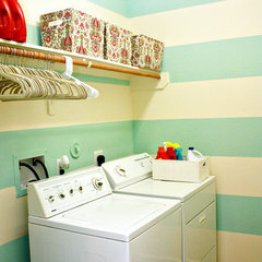 laundry room by Casa Greer