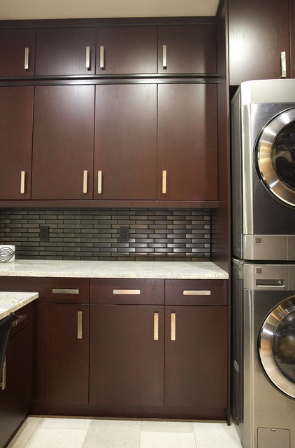 Contemporary Laundry Room by Centennial 360