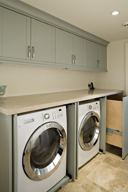 modern laundry room by Claudio Ortiz Design Group, Inc.