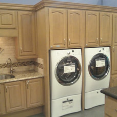 Traditional Laundry Room by David L. Scott / Lowe's Design Center