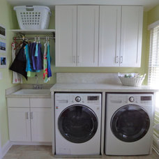 Traditional Laundry Room by Construction Solutions