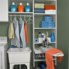 Traditional Laundry Room by Contemporary Closets