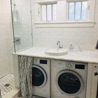 Idéer för små funkis tvättstugor