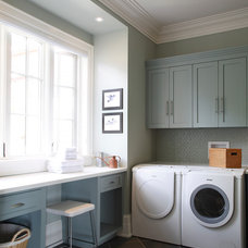 Traditional Laundry Room by Cranberry Hill Kitchens