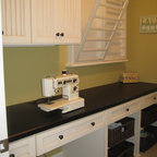 Pop up mixer cabinet for sewing machine - Contemporary - Laundry Room - Denver - by Jan Neiges, CKD