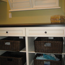 Traditional Laundry Room by Creative Interiors by Kim