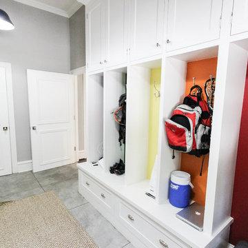 Laundry Room Cubbies