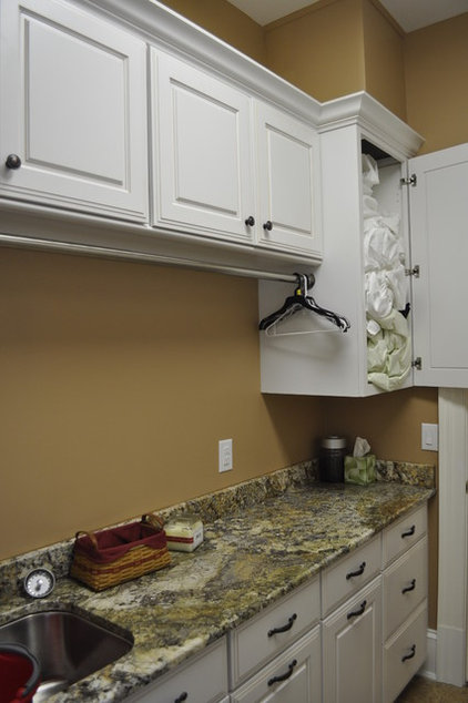 Traditional Laundry Room by DARIN FISHER DESIGNER KITCHENS