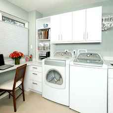 Traditional Laundry Room by Dee David & Co, LLC