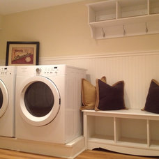 Traditional Laundry Room by Design Find