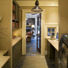 Traditional Laundry Room by DESIGNS! - Susan Hoffman Interior Designs