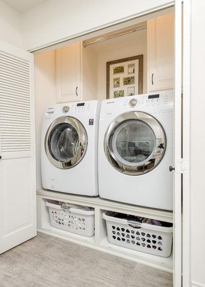 Traditional Laundry Room by Kurt Krueger Architects