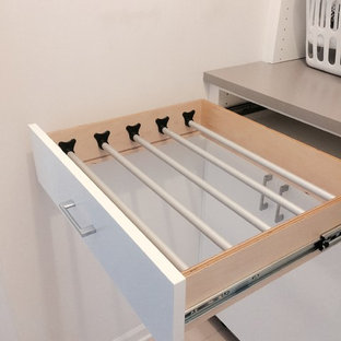 Laundry Room - drawer for hanging