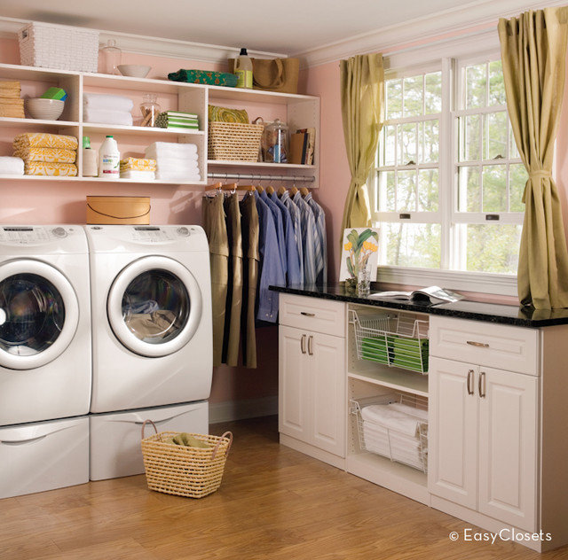 Traditional Laundry Room by EasyClosets