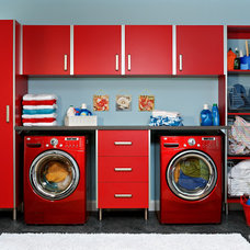 Contemporary Laundry Room by EasyClosets
