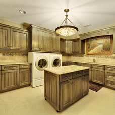 Traditional Laundry Room by Echelon Custom Homes
