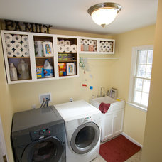 Traditional Laundry Room by Faith Home Remodeling Services