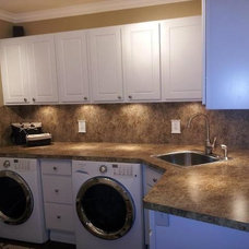 Traditional Laundry Room by G & E Architectural Products