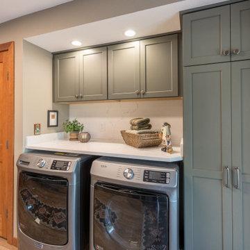 Laundry Room gets a Multi-Use Overhaul
