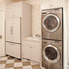 Transitional Laundry Room by Hendel Homes