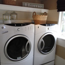 Eclectic Laundry Room Laundry Room
