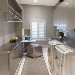 modern laundry room by electronichouse.com