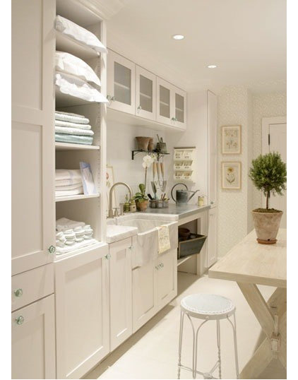 contemporary laundry room Laundry Room