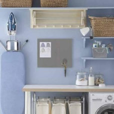 Eclectic Laundry Room by House to Home