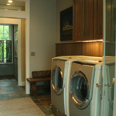 Traditional Laundry Room by Chelle Design Group