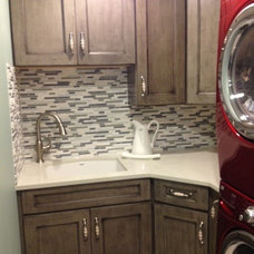 Traditional Laundry Room by Kitchen Expo Design Center